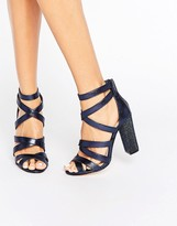 Miss KG Flick Strappy Detailed Heeled Sandals