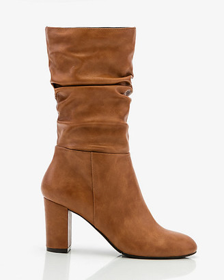 Le Château Round Toe Slouch Boot