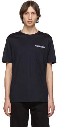 Salvatore Ferragamo Navy Pocket T-Shirt