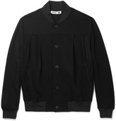 McQ Slim-fit Jersey Bomber Jacket - Black