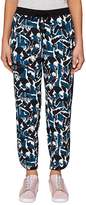 Ted Baker Colour by Numbers Mala Crane-Print Jogger Pants