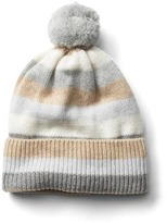 Gap Crazy stripe merino wool blend beanie