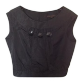 Louis Vuitton Black Silk Top