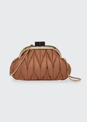 Miu Miu Belle Napa Crossbody Clutch Bag