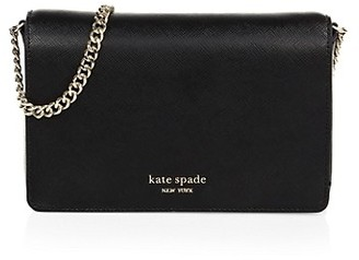 Kate Spade Spencer Leather Wallet-On-Chain