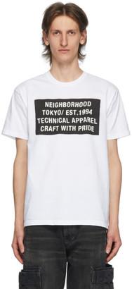 Neighborhood White Billboard T-Shirt