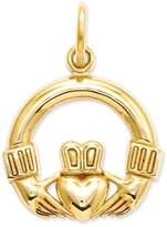 Celtic 14k Claddagh Charm