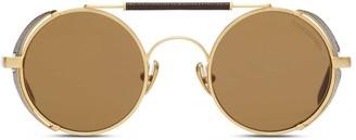 Oliver Goldsmith Sunglasses 1920's Brushed Gold