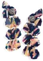 Lele Sadoughi Confetti Petal Drop Earrings