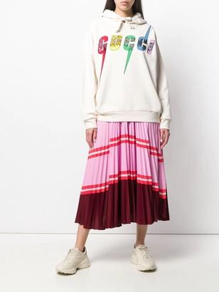 Oversize Sweatshirt With Gucci Blade Tba