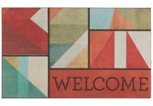 """Mohawk Doorscapes Welcome 1' 6"""" L X 2' 6"""" W Doormat Bedding"""