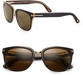 Tom Ford Eyewear Rock Acetate Oval Wayfarer Sunglasses