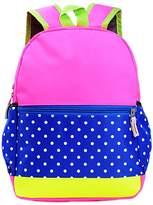 Happy Cherry Kids Girls Kindergarten School Bag Bookbag Backpack Dot