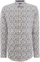 Linea Men's Bondway Ditsy Floral Print Shirt