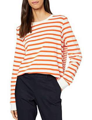 S'Oliver Women's 14.001.31.6981 Long Sleeve Top,18 (Size: )