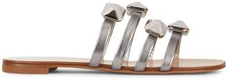 Giuseppe Zanotti Stud-Embellished Flat Sandals