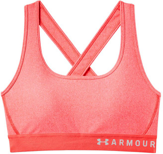 Under Armour Womens Crossback Heather Sports Bra