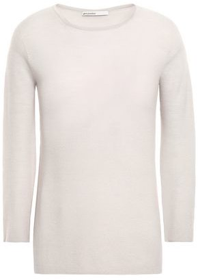 Gentryportofino Rib-trimmed Cashmere Sweater