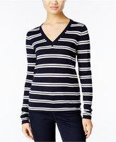Lacoste Striped Wool Sweater