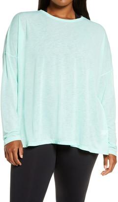 Zella Breezy Tie Back Long Sleeve T-Shirt