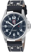Luminox Men's GGL.L1879.BO 1870 Series Quartz Calfskin Band Watch