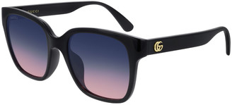 Gucci Square Gradient Sunglasses
