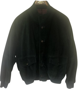 Hermes Green Suede Jackets