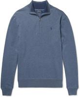Polo Ralph Lauren - Mélange Cotton Half-Zip Sweater