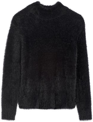 Banana Republic Cropped Fuzzy Sweater