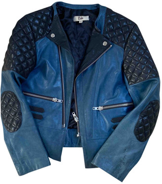 Rika Multicolour Leather Jackets