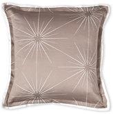 Barbara Barry Beige Starburst Decorative Pillow