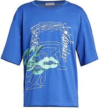 Givenchy Techno-Print T-Shirt