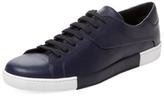Prada Lace-Up Low Top Sneaker