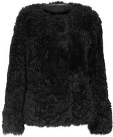 Yves Salomon Reversible Shearling Jacket - Black