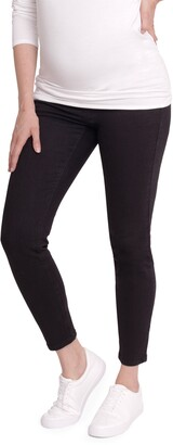 Ingrid & Isabel Crossover Panel Maternity Skinny Jeans