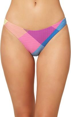 O'Neill Clementinas Plaid Bikini Bottoms