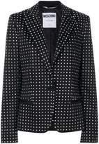 Moschino micro dotted blazer