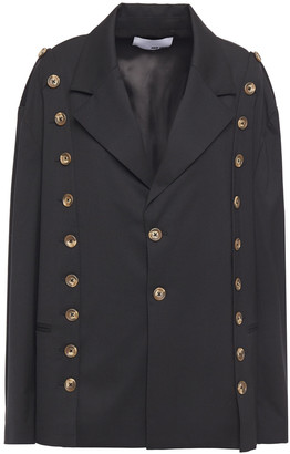 Each X Other Button-embellished Gabardine Blazer