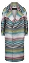 Escada Coty Lightweight Striped Coat