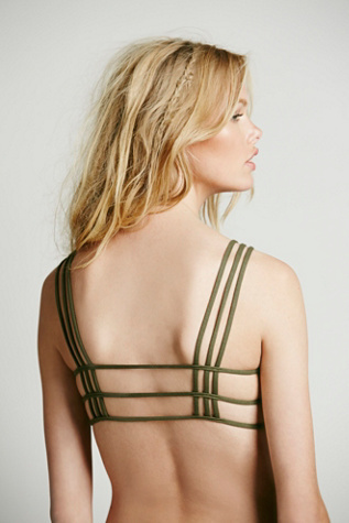 Free People 3 Strap X Chest Bra