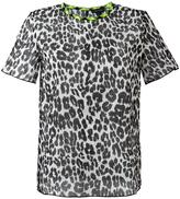 Marc Jacobs leopard print T-shirt - women - Cotton - 4