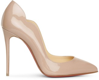 Christian Louboutin Hot Chick 100 patent after sun pumps