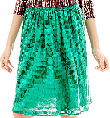 JCPenney Duro Olowu for jcp Jacquard Skirt