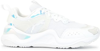 Puma Rise Glow low-top mesh trainers