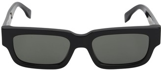 RetroSuperFuture Roma Black Acetate Sunglasses
