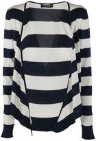 Dolce & Gabbana Striped Tie Cardigan