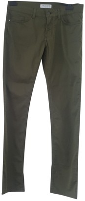 Trussardi Green Cotton Trousers for Women