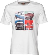 Ben Sherman Sports Cars T-Shirt White