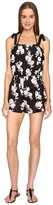 Kate Spade Posey Grove Tie Shoulder Romper Cover-Up Women's Jumpsuit & Rompers One Piece