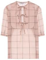 Valentino Silk organza blouse